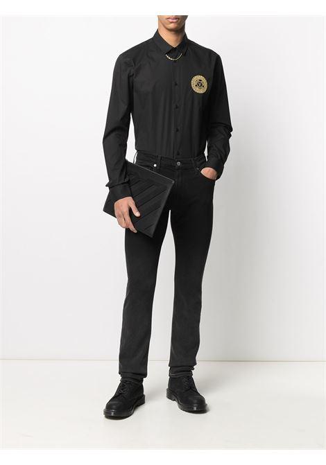Camicia con logo Uomo VERSACE JEANS COUTURE | B1GWA6S430421899