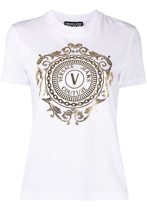 Versace Jeans Couture t-shirt con logo donna 003+948 VERSACE JEANS COUTURE | T-shirt | B2HWA7FA30454K41