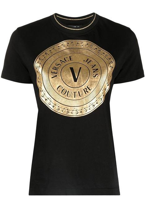 T-shirt con logo  VERSACE JEANS COUTURE   T-shirt   B2HWA7TC30319K42