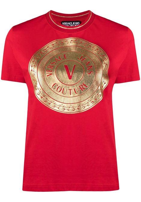 T-shirt con logo Donna VERSACE JEANS COUTURE | T-shirt | B2HWA7TC30319O19