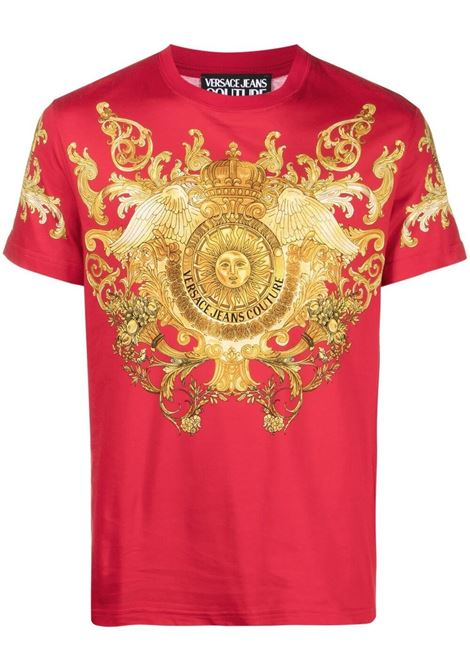 T-shirt Rococo Crystal  VERSACE JEANS COUTURE | T-shirt | B3GWA7S1S0274514