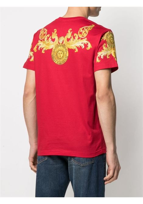 T-shirt Rococo Crystal Uomo VERSACE JEANS COUTURE | B3GWA7S1S0274514