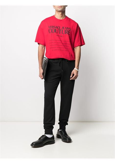 T-shirt con stampa Uomo VERSACE JEANS COUTURE | B3GWA7TM30319N48