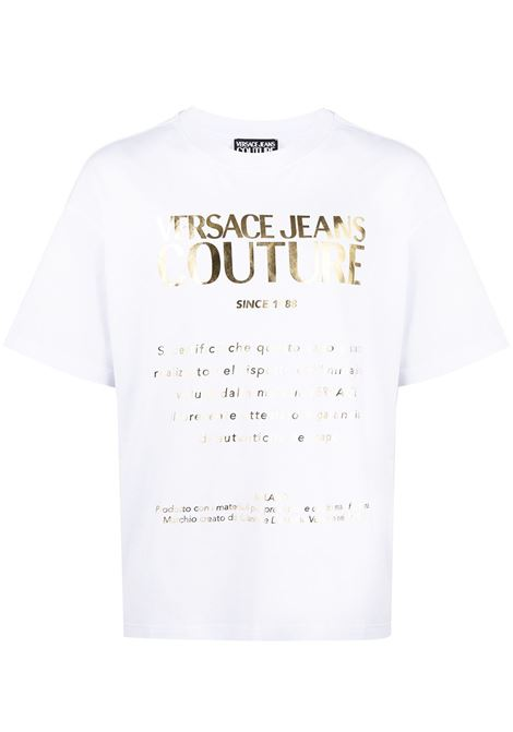 Versace Jeans Couture t-shirt con logo uomo 003+948 VERSACE JEANS COUTURE | T-shirt | B3GWA7TR30319K41