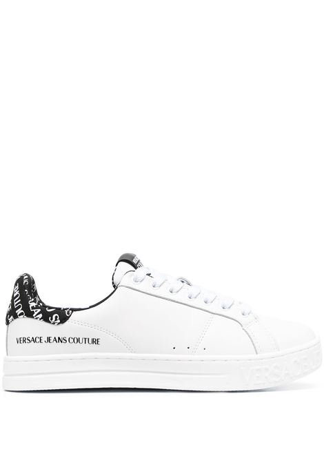 Versace Jeans Couture sneakers con logo uomo bianco VERSACE JEANS COUTURE | Sneakers | E0YWASK371962003