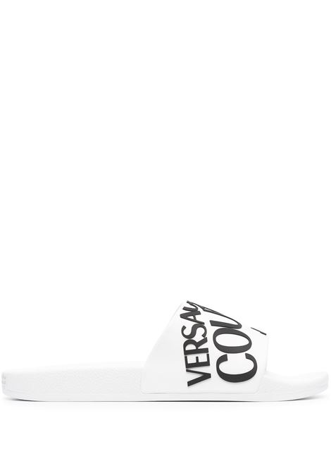 Versace Jeans Couture ciabatte goffrate uomo bianco VERSACE JEANS COUTURE | Ciabatte | E0YWASQ171352003