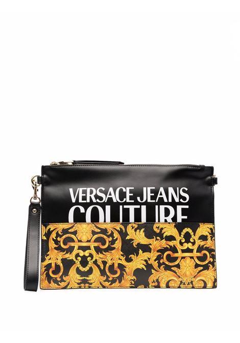 Versace jeans couture clutch bag black women VERSACE JEANS COUTURE   E1VWABGY71727M27