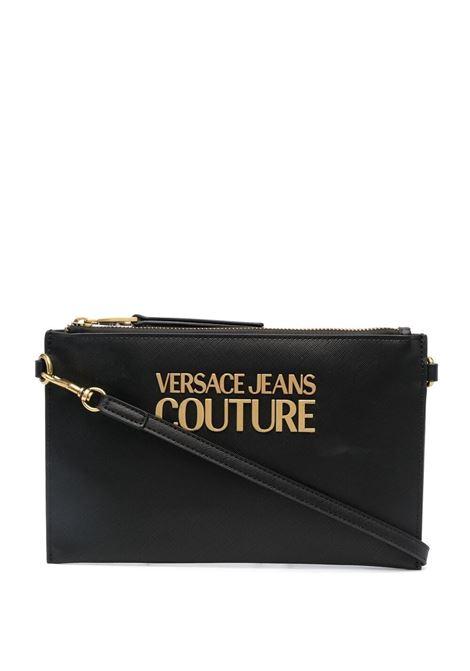 Logo clutch bag  VERSACE JEANS COUTURE | Shoulder bags | E1VWABLX71879899