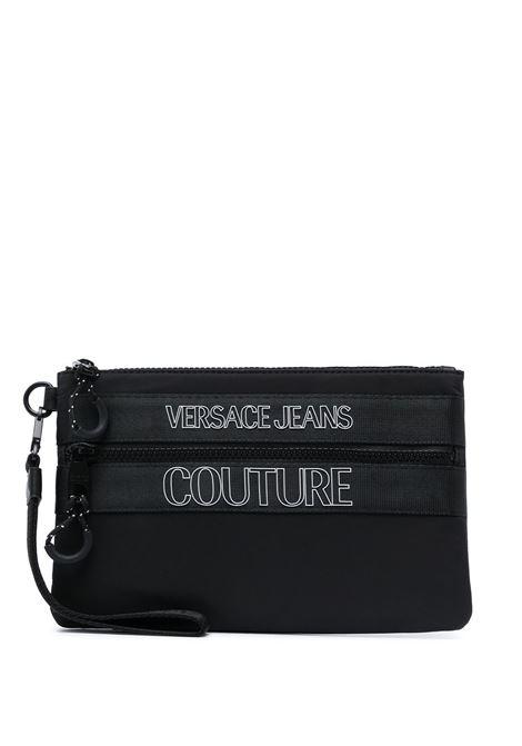 Logo clutch bag VERSACE JEANS COUTURE | Clutch bags | E3YWAPA271895899