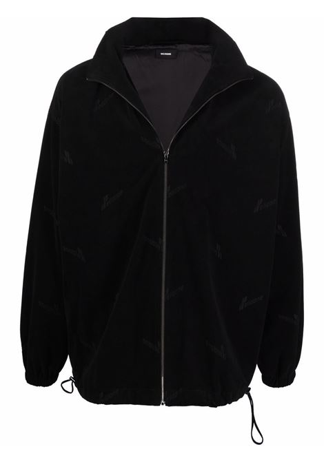 We11done logo jacket men black WE11DONE | Outerwear | WDJP920055UBK