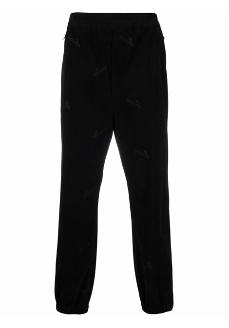 We11done logo trousers men black WE11DONE | Trousers | WDPT920156UBK