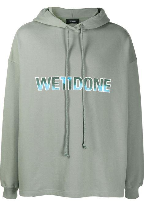 Felpa con logo Uomo WE11DONE | Felpe | WDTP519500KK