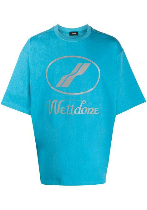 T-shirt con logo Uomo WE11DONE | T-shirt | WDTP519930BL