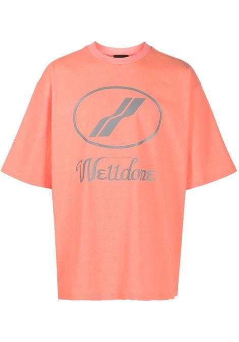 T-shirt con logo Uomo WE11DONE | T-shirt | WDTP519930OR