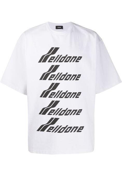 Oversized logo T-shirt WE11DONE | T-shirt | WDTP620074UWH