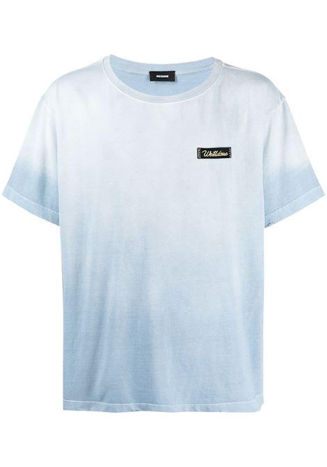 T-shirt con effetto schiarito Uomo WE11DONE | T-shirt | WDTT021502SK