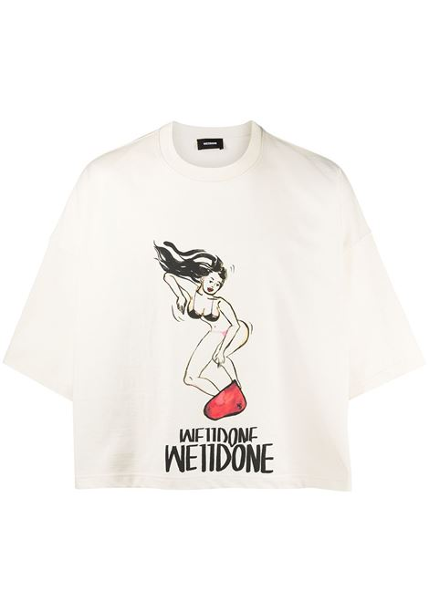 T-shirt con stampa Uomo WE11DONE | T-shirt | WDTT021517IV