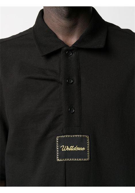Polo con logo Uomo WE11DONE | WDTT021523BK