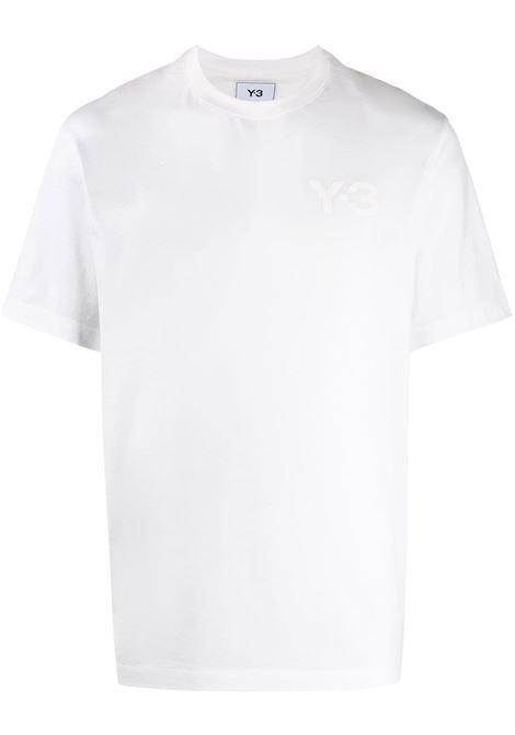 Y-3 t-shirt con logo uomo white Y-3 | T-shirt | FN3359WHT