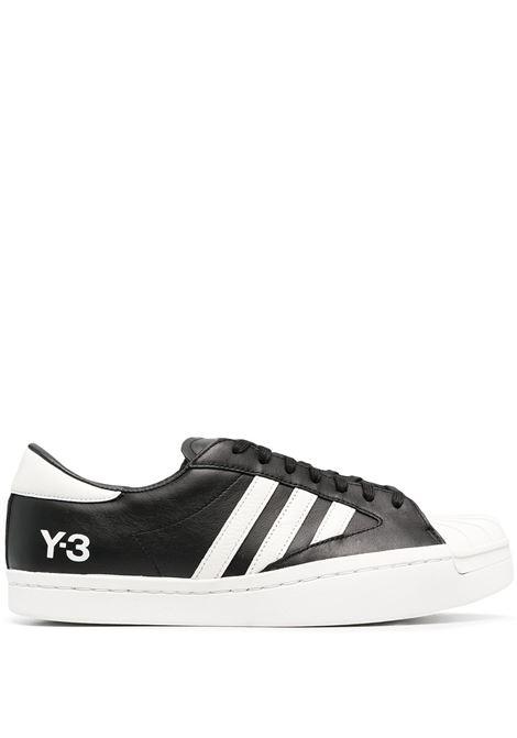 Y-3 sneakers yohji star uomo black white Y-3 | Sneakers | H02578BLKWHT