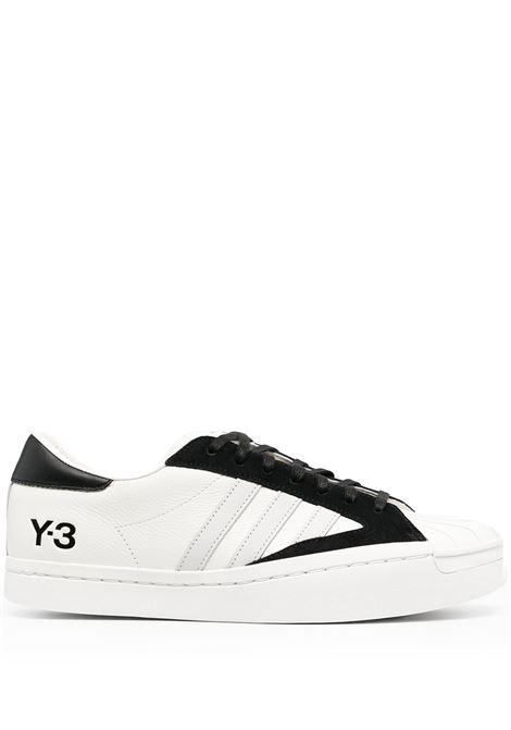 Y-3 sneakers yohji star uomo white black Y-3 | Sneakers | H02579WHTBLK