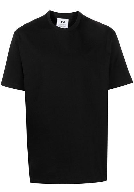 Y-3 t-shirt con logo uomo black Y-3 | T-shirt | H16334BLK