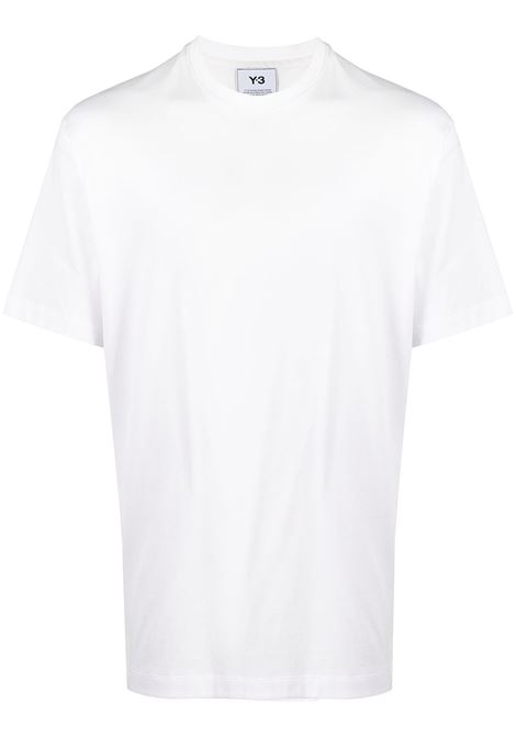 Y-3 t-shirt con righe uomo white Y-3 | T-shirt | H16335WHT