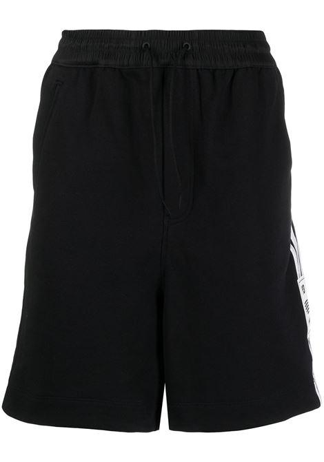 Y-3 shorts sportivi con logo uomo black Y-3 | Bermuda | H16336BLK