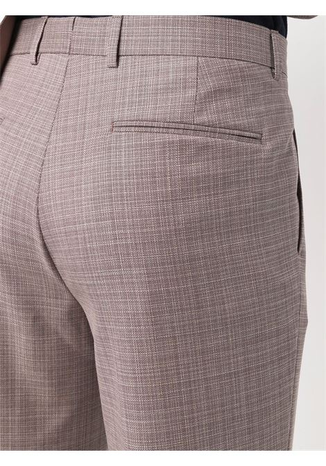 Two-piece suit with check pattern pale grey- men Z ZEGNA | 9248042VSAGH602