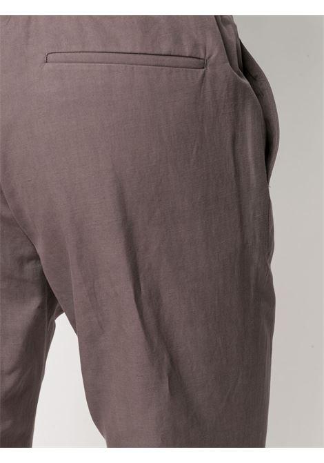 Red slim-fit track trousers - men Z ZEGNA | 9ZF03373GLC1602