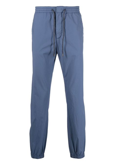 Drawstring-tapered trousers