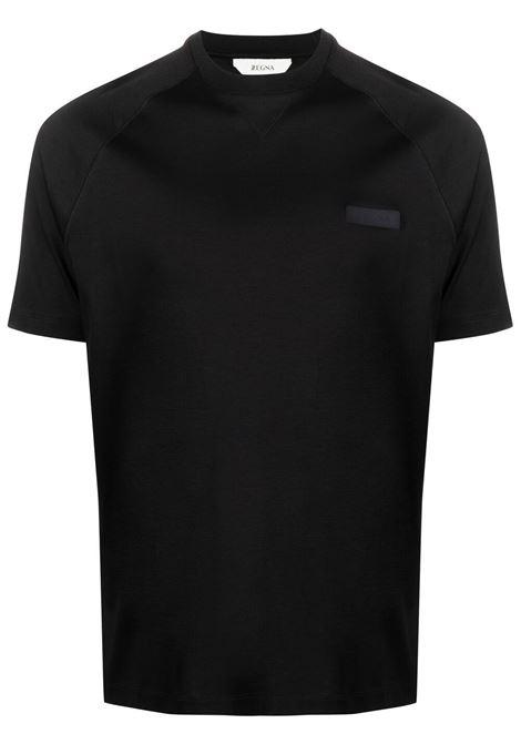 T-shirt con applicazione Z ZEGNA | T-shirt | VW348ZZ638001
