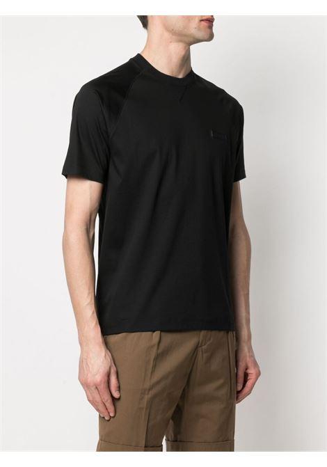 Crew-neck t-shirt black - men Z ZEGNA | VW348ZZ638001
