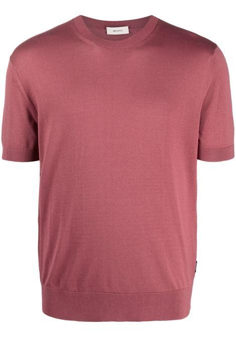 Z Zegna t-shirt a girocollo uomo red Z ZEGNA | T-shirt | VWC11ZZ112512