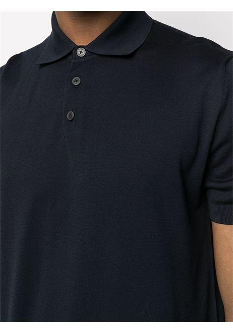 Polo classica blu navy -uomo Z ZEGNA | VWC11ZZ135402