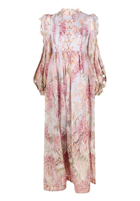Zimmermann abito lungo donna milettia floral ZIMMERMANN | Abiti | 1133DBOTMILFL
