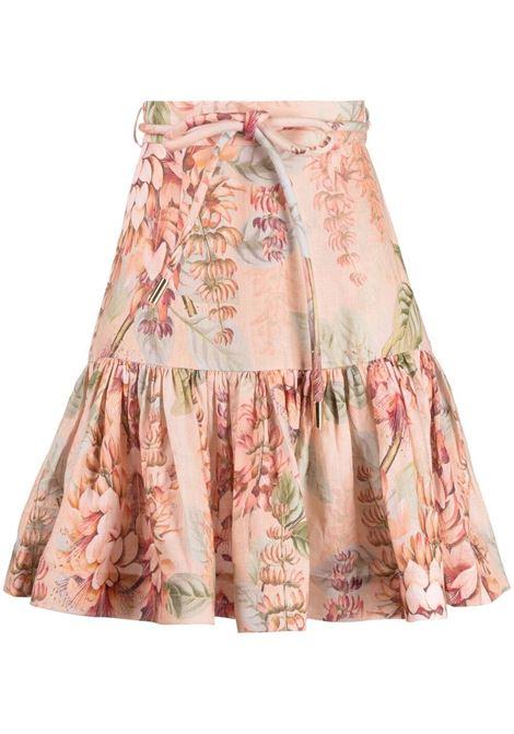 Zimmermann floral skirt women coral tree ZIMMERMANN | Skirts | 1198SCANCORTR