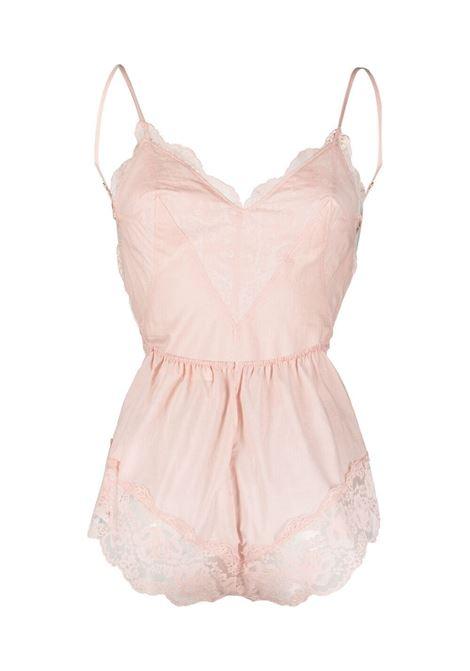 Lace-trimmed body dusty pink - women ZIMMERMANN | 1367YBOTDPI