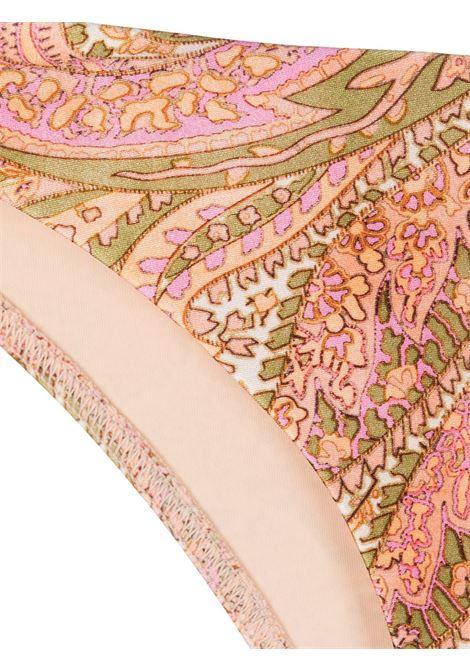 Paisley-print bikini briefs multicolored - women  ZIMMERMANN | 9708WBRGBSHPA