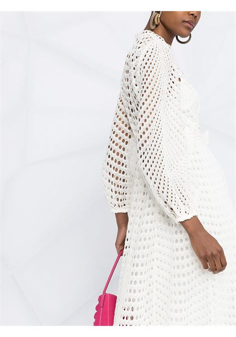 Eyelet long dress ivory - women ZIMMERMANN | 9836DPOPIVO
