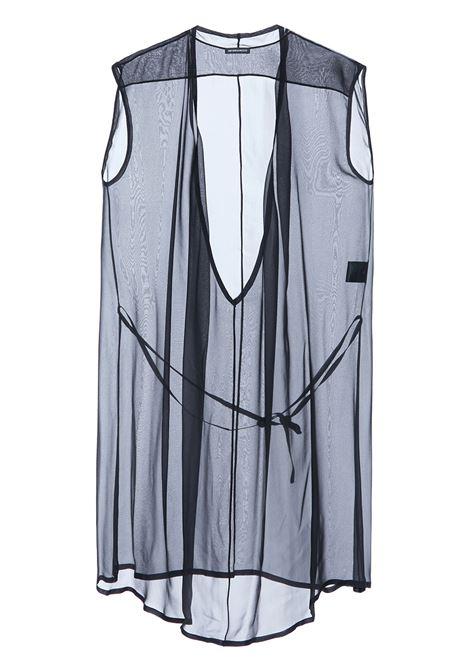 Sheer panel dress ANN DEMEULEMEESTER | Dresses | 21012210108099