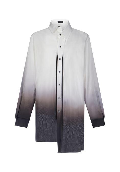 Camicia con stampa degrade uomo ANN DEMEULEMEESTER | 21013610123003