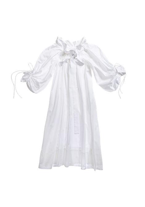 Horror Vacui abito alice donna salt white HORROR VACUI | Abiti | 11SS21D1101580201F