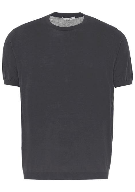 Kangra t-shirt a girocollo uomo grigio KANGRA | T-shirt | 20042100170