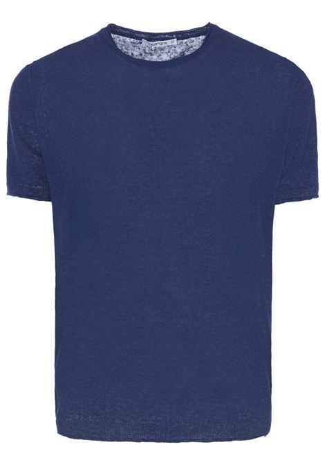 Kangra t-shirt a girocollo uomo blu KANGRA | T-shirt | 201321000742