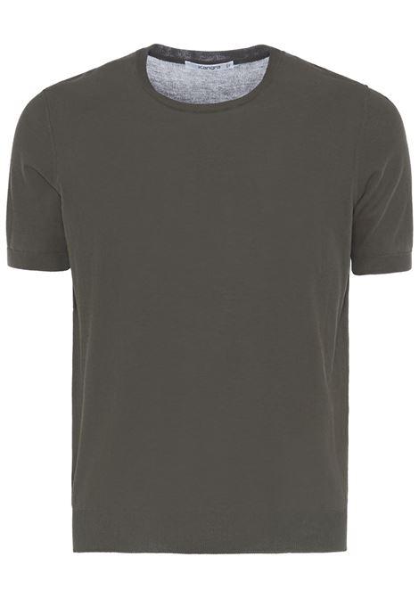 Kangra t-shirt a girocollo uomo verde KANGRA | T-shirt | 20342100187