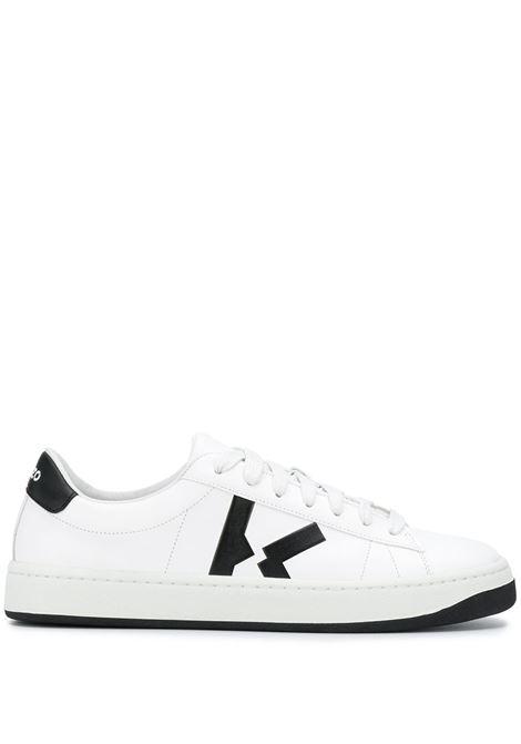 Kenzo sneakers kourt k uomo blanc KENZO | Sneakers | FA65SN170L5001