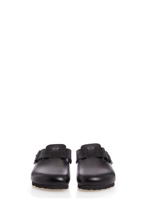 Mules boston con design opaco in nero - uomo RICK OWENS X BIRKENSTOCK | BM21S68091946809