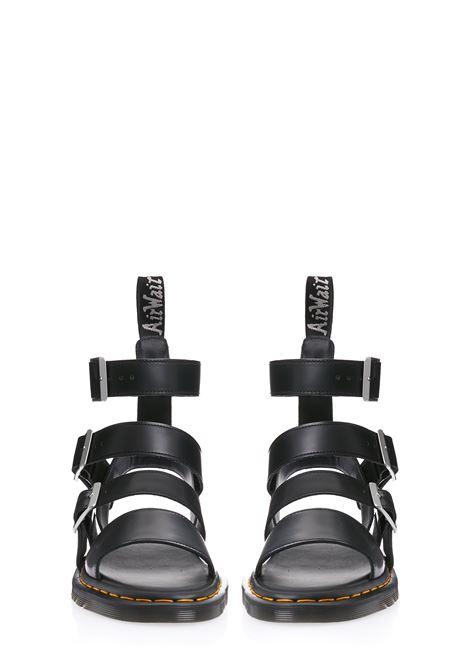 Rick owens x dr. martens gryphon sandals men black RICK OWENS X DR. MARTENS | DM21S6806100109