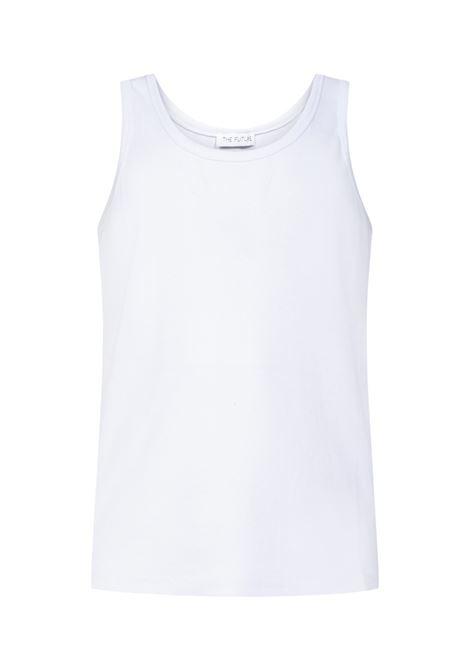 T-shirt a cannotta uomo THE FUTURE | T-shirt | TF0005BNC